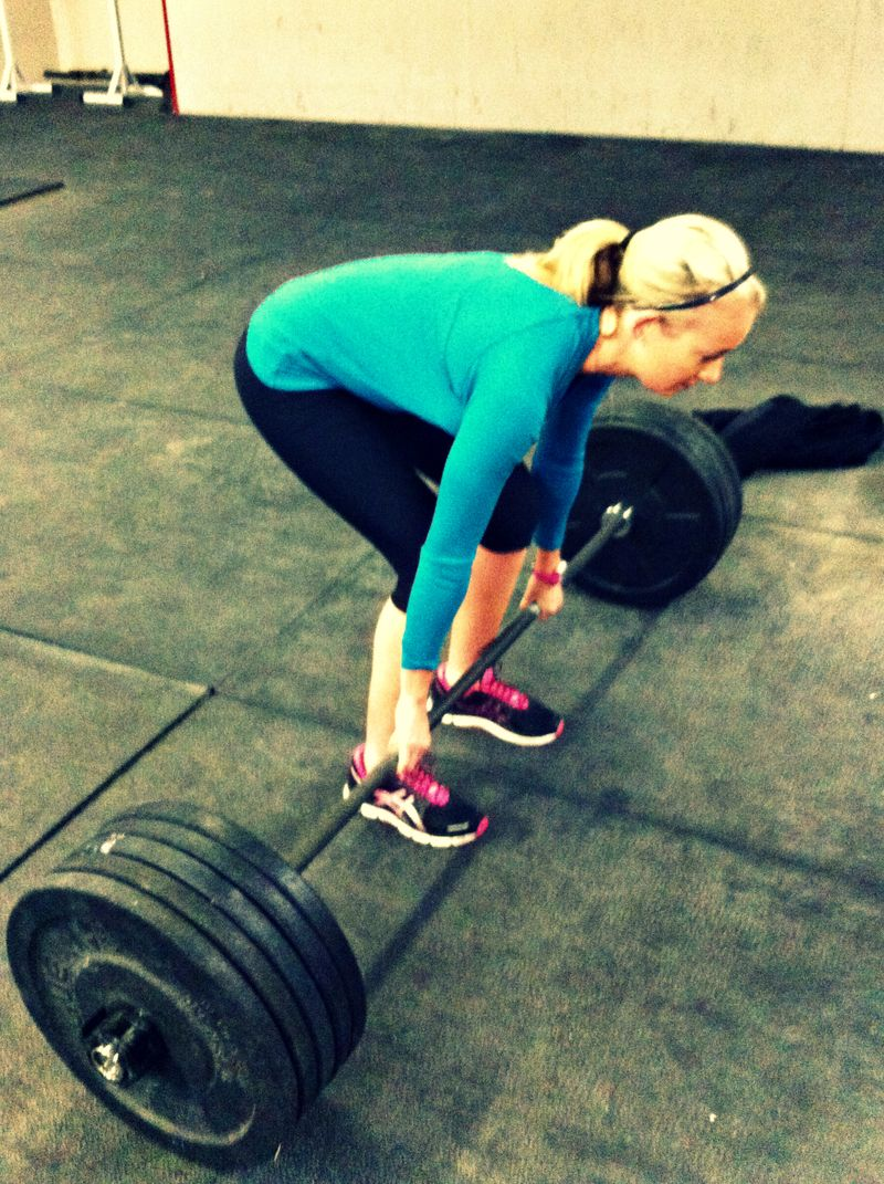 Danielle deadlift